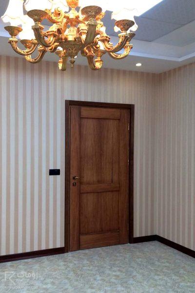 درب چوبی ورودی آپارتمان