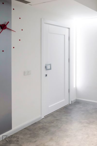 درب داخلی سفید