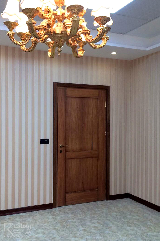 درب آپارتمان چوبی