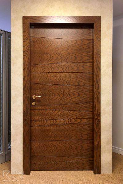 درب روکش چوب