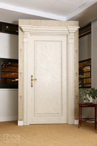درب چوبی پتینه