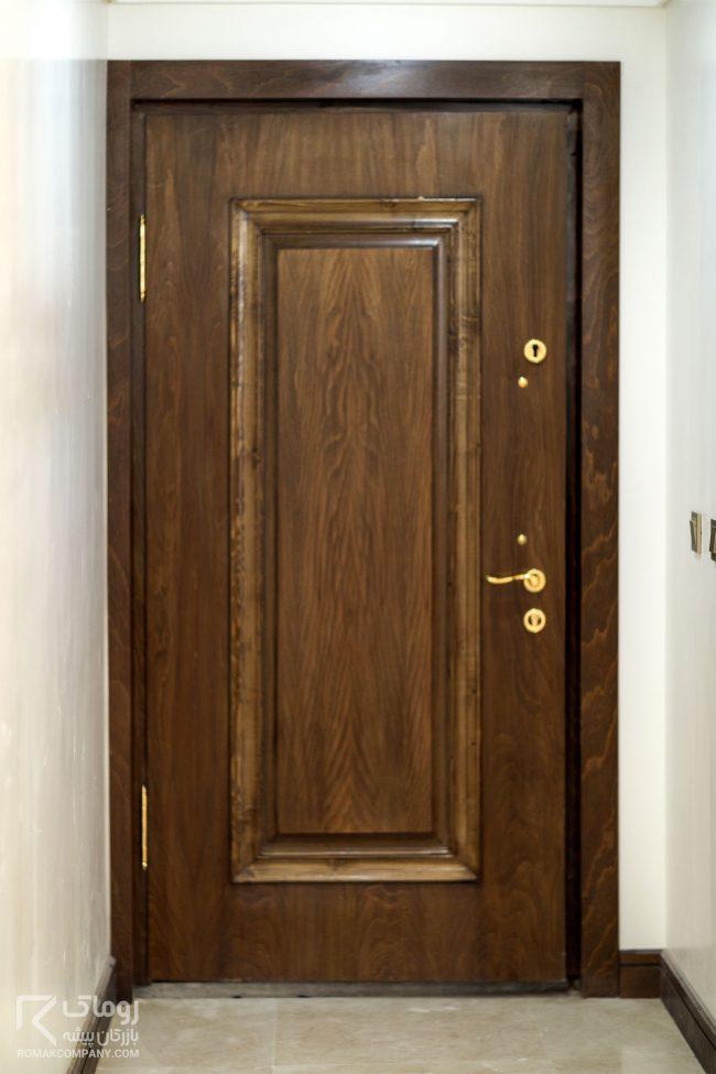 درب ضد سرقت چوب