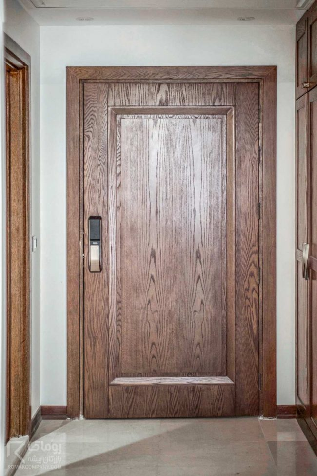 درب داخلی قابدار بزرگ