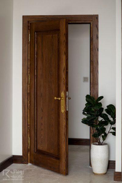 درب داخلی اتاق قابدار
