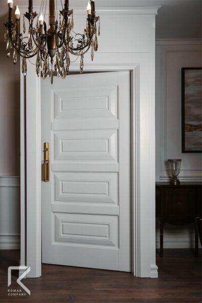 درب ورودی سفید لوکس