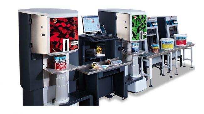 ماشین ترکیب رنگ کامپیوتری