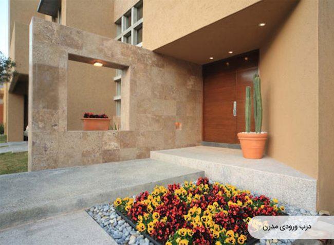 عکس درب ورودی ساختمان