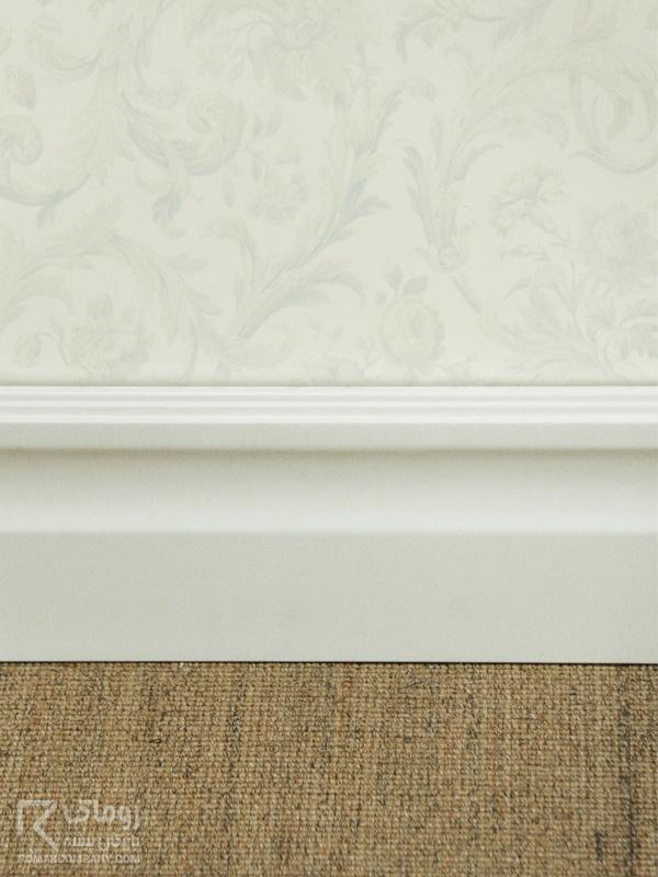 قرنیز چوبی سفید