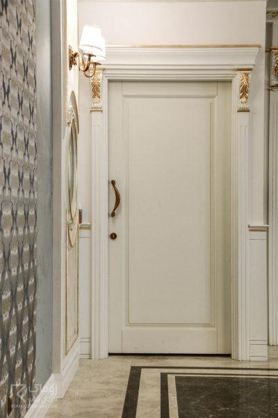 درب شیک سفید